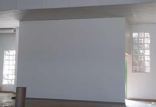 Parede drywall com isolamento acústico