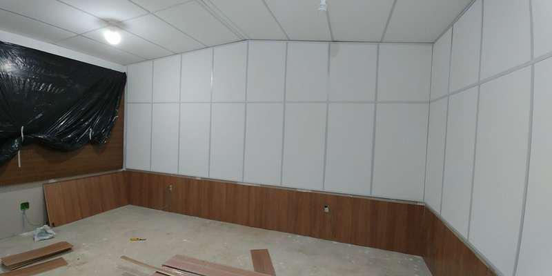 Tratamento acústico drywall