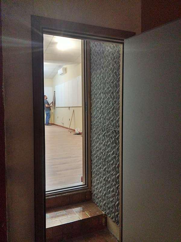 Isolamento acústico portas residenciais