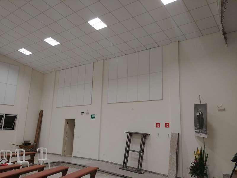 Projeto de acústica para igrejas