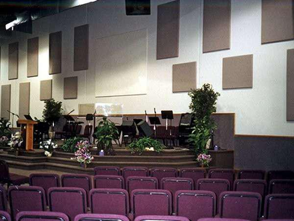 Projeto acústico para igrejas