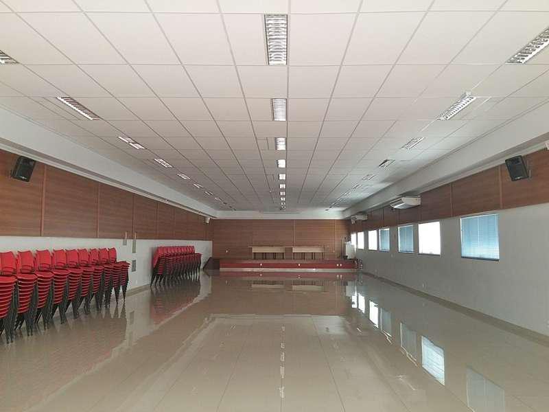 Tratamento acústico auditório