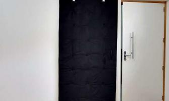 Isolamento acustico portas residenciais